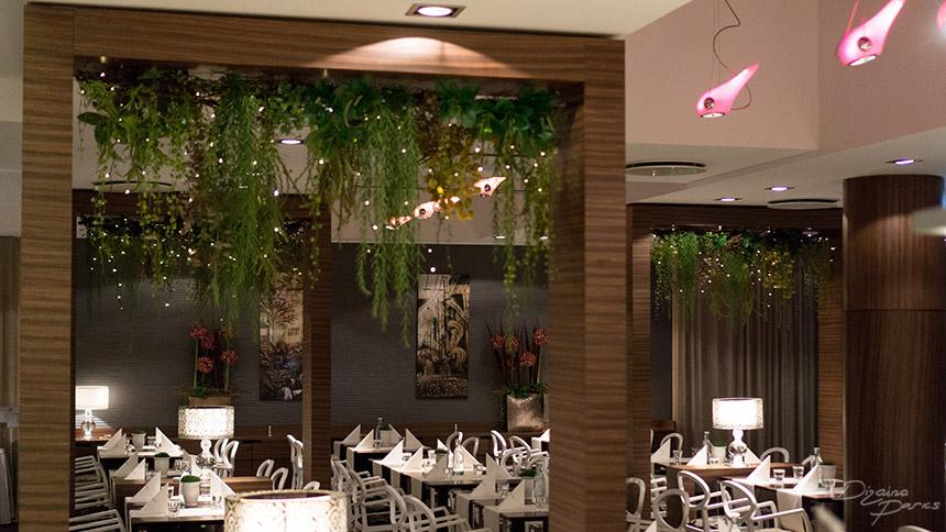 Restoranu telpu noformējums