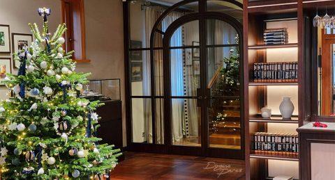 Ziemassvētku egles un telpu dekori